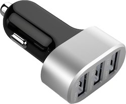 USB Car Charger With Triple Port