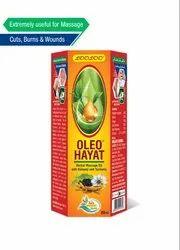 Kalonji And Turmeric 200 ml Looloo Oleo Hayat Herbal Massage Oil , Packaging Type: Bottle