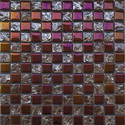 YM640 Glass Mosaic Tile