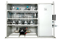Gas Booster System PLC & PC Controlled