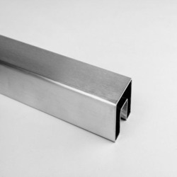 Square Rectangle Slot Tube