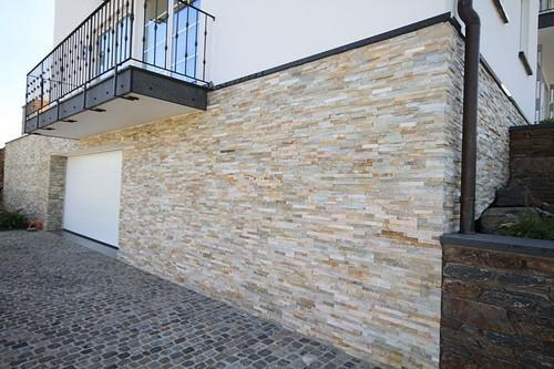 Front Elevation Wooden Tiles : Interior and exterior wall cladding d stone