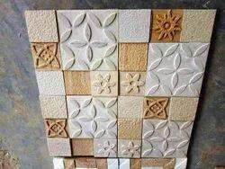 Mint Sandstone Mosaic Wall Cladding Tiles