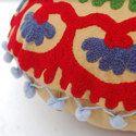 Modern Embroidered Cushion