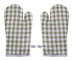 Mini Checked Cotton Glove