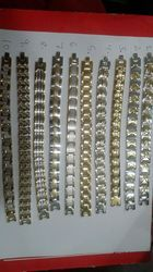 Bio Magnetic Titanium Double Line Bracelet