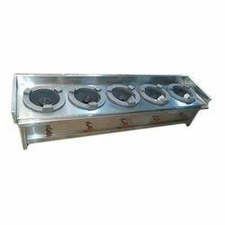 Five Burner Cooking Range
