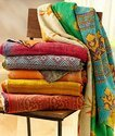 Handmade Unique Indian Kantha Patchwork Bed Cover