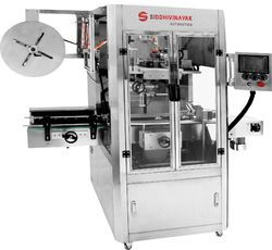 Semi Automatic Shrink Labeling Machine