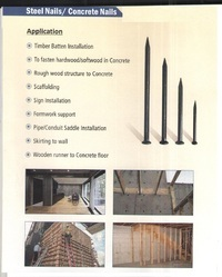 Steel Nails & Concrete Nails