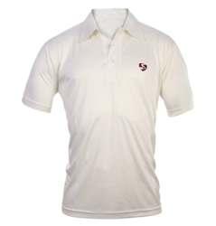 SG Half Sleeves Cricket White T-Shirt