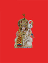 Beautifully Dressed Hanuman Ji Statues