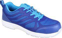 Honeywell Safety Shoe lightweight sporty, Dark and Light Blue
