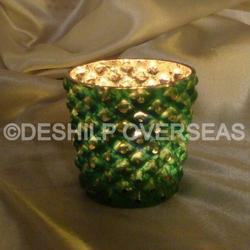 Cut Decorative Candle Votive Holder