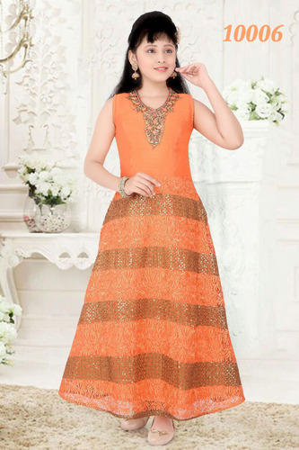 d4559a6013e Girls Embroidered Gowns - Ladies Gown Manufacturer from New Delhi