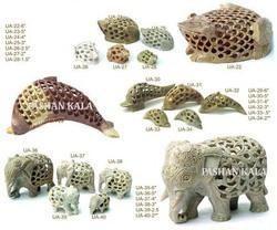 Soapstone Undercut Animal Figure