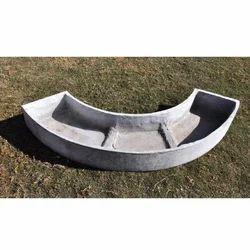 Curved Concrete Planter