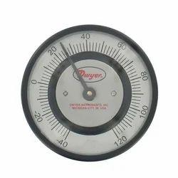 Series GBT Glow In The Dark Bimetal Thermometer