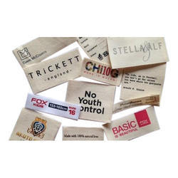 Cotton Labels Printing Services
