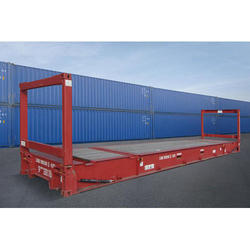40 Ft Flat Rack Storage Container