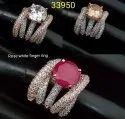 American Diamond Finger Ring