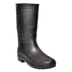 Safety Gumboots Welcome Black