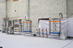 1000 LTR SS RO Plant