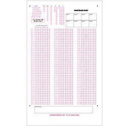 Attendance OMR Sheets