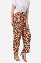 Ladies Floral Peplum Pants