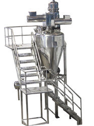 Single Rotary Nauta Mixer
