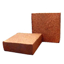 Square Coir Pith Block