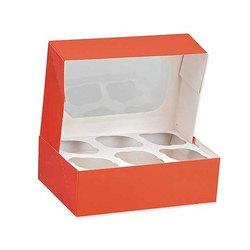 Cup Cake Boxes Printing Services