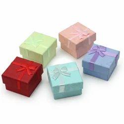 Cardboard Jewellery box