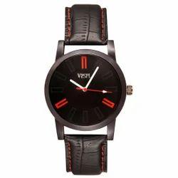 Vespl  Analogue Black Dial Men's Watch -(VW1009)