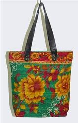 Cotton Vintage Kantha Bag