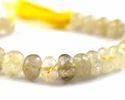 Golden Rutile Gemstone Beads