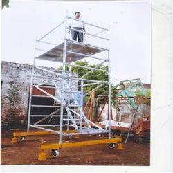 Aluminium Scaffolding With Climbing Ladders