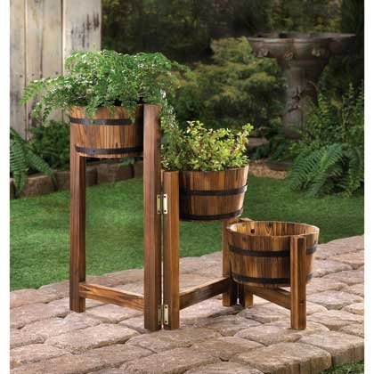 Garden Furniture Wooden Planters Manufacturer From