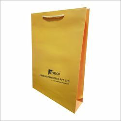 Rope Handle Paper Ping Bags Laminated With