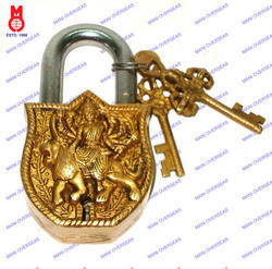 Lock W/Keys Durga Design