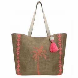 Juteberry Jute Beach Bag