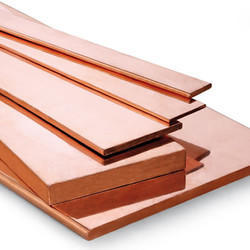 Beryllium copper flat bar