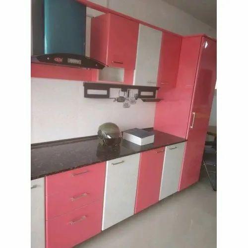 Pvc L Shape Modern Modular Kitchen Rs 850 Square Feet: PVC Modular Kitchen Retailer From Chennai