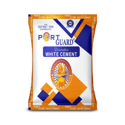 Port Guard White Cement Packing Bag