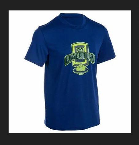 e1d1748a565 Decathlon Fast Kids  Basketball T-Shirt For Beginner Confirmed Players -  Blue Playground