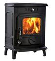 Cast Iron Wood Fireplace