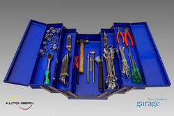 Tool Box With Assorted Tools