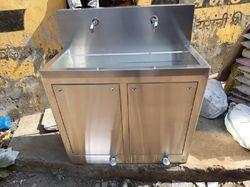 Two Bay Scrub Sink