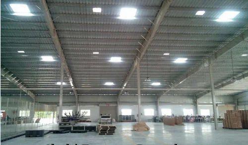 Solar Daylight Harvesting System Industrial Warehouse