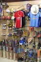 Display Panels for Sports Stores